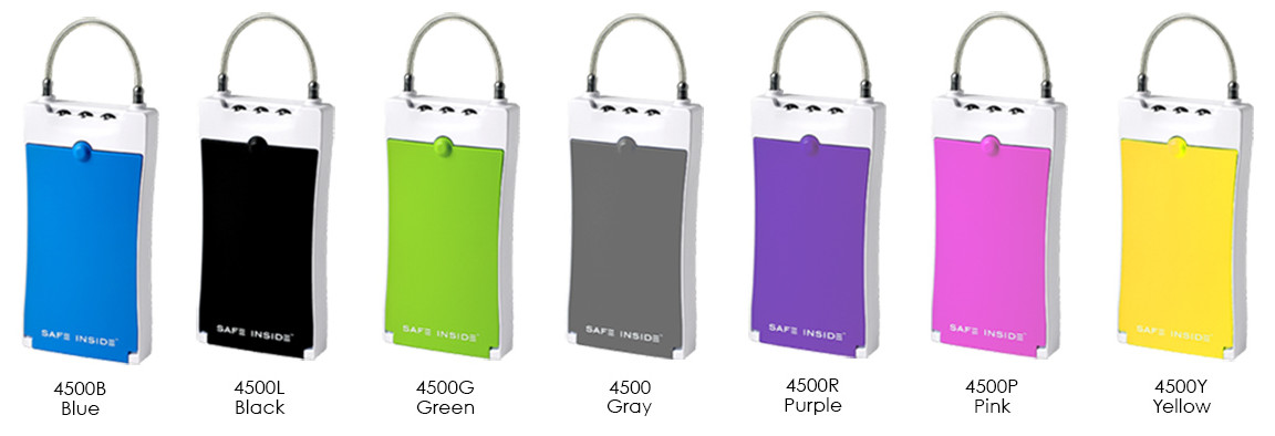Safe Inside Portable Safety Case Color Selection